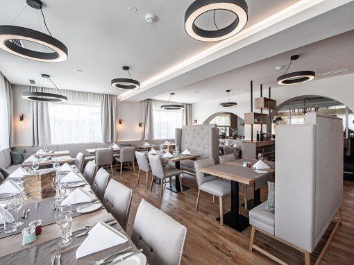 Hotel Bergland – Speisesaal